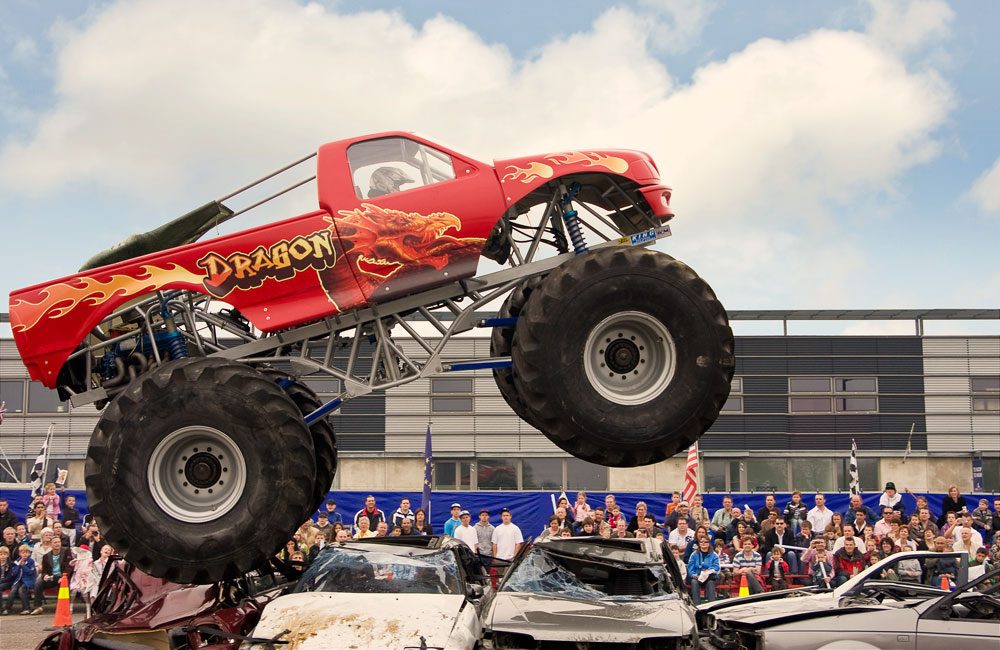 strakplan evenementenfotografie monstertruck
