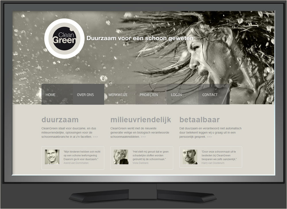 strakplan webdesign cleangreen