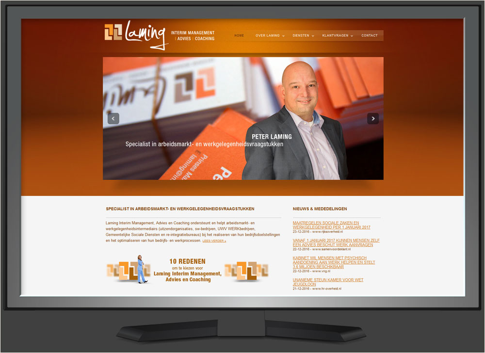 strakplan webdesign laming