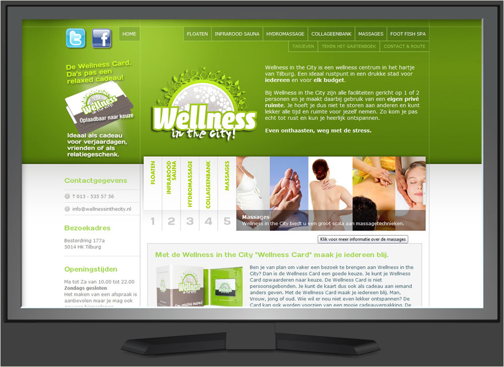 strakplan webdesign wellness-in-the-city