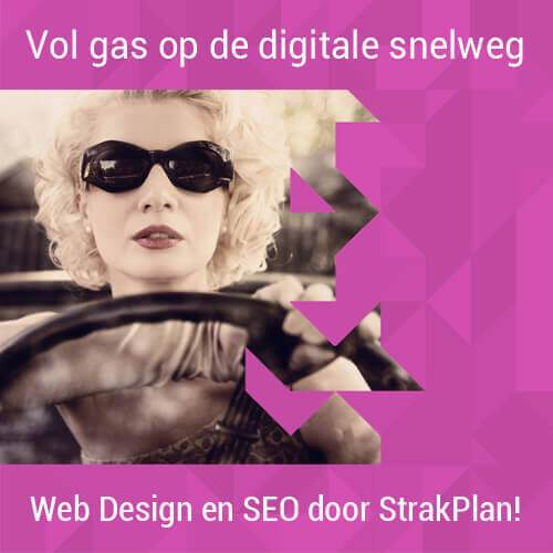 Webdesign door Strakplan